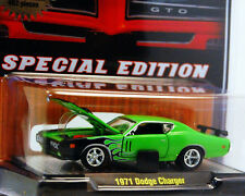 M2 MACHINES 1 STOP DIECAST LIMITED EDITION 1971 DODGE CHARGER LIMITED TO 492