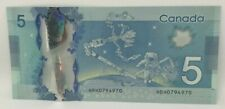 Canadian 2013 Radar Note Frontiers issue Serial # HBH0794970