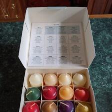 PartyLite Votive Sampler Pack, 16 Candles, Assorted Fragrances, New Old Stock