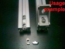 Aluminum T-slot profile drop-in T-nuts 8T-30 M6mm, 24-set