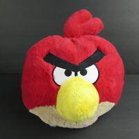 "Angry Birds Red 12"" Plush Ball Stuffed Animal 2010 Rovio Commonwealth Toys"