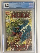 Incredible Hulk v. Venom #1, CGC 9.2 (White Pages), Red-Foil Embossed Cover
