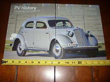 1937 VOLVO PV52 - ORIGINAL ARTICLE