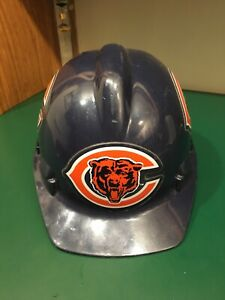 Chicago Bears Hard Hat ANSI Z89.1-1986 Class A,B made in the USA