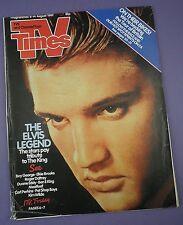 TV Times Magazine 8-14 August 1987 - Elvis Presley Tribute