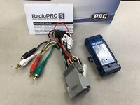 PAC RP3-GM11 / **NEW** RADIO REPLACEMENT INTERFACE & HARNESS FOR GM w/o ONSTAR