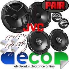 Ford Fiesta 2008 MK7 Front & Rear Side 1200 Watts Car Speakers Full Upgrade Kit