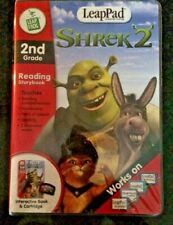 LeapFrog LeadPad Shrek 2 Interactive Cartridge Book 2nd Grade Reading Sealed New