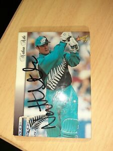 Collector Signed Cricket Cards