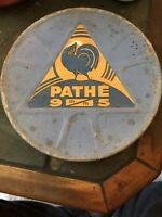 Antique Pathe Cinema  Film Projector Hand Crank Pathe Movie Film