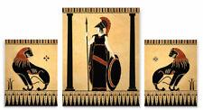 Greek Roman Art Prints Goddess Athena Lions