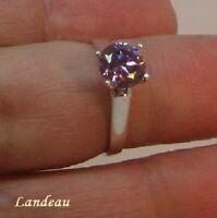 1.40 ct  Sparkling Pink Diamond Ring *