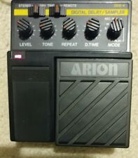 VINTAGE & RARE Arion DDS-4 Digital Delay/Sampler Guitar Pedal + Box, Md in Japan