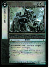 LORD OF THE RINGS TRADING CARD GAME RARE CARD 2R80 STRICKEN DUMB