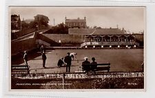 More details for municipal bowling green, tayport: fife postcard (c27058)