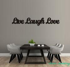 Wood 3D Cutout 'Live, Laugh, Love' set  wood sign