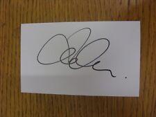 "2013/2014 Tranmere Rovers: Koumas, Jason [Autographed White Card 5""x 3""]. Condit"