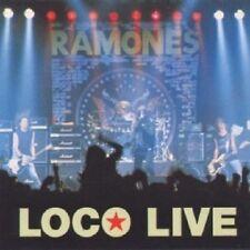 RAMONES - LOCO LIVE  CD 33 TRACKS PUNK ROCK NEU