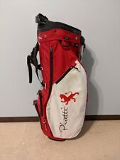 Piretti Putters/Sun Mountain 3.5 Limited Edition Golf Stand Bag red/white/black