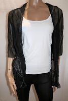 L.LINDA Brand Black Mesh Lace 3/4 Sleeve Cardigan Size 20 BNWT #SD85