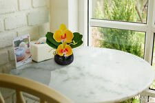 Artificial  Flower  Phalaenopsis orchid  ( yellow  )