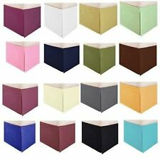 """Super Hotel Collection """" Bed Skirt"""" Egyptian Cotton 800-Tc All Size & Color 16"""""""