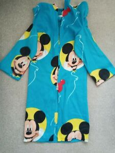 Mickey Mouse Childrens Blanket With Arms