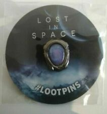 2x X Lost in Space Collectible Pin 2018 Lootcrate Loot Crate Pins