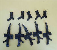 """lot OF 10 Accessories  weapons guns FOR 6"""" 7""""  Military SOLIDER FIGURE"""