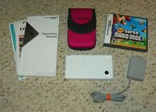 Nintendo DSi Brain Age Collection - Handheld System w/ New Super Mario - White