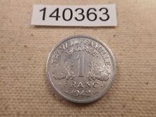 1942 France 1 Franc - Nice Collectible WW II Era Album Coin - # 140363