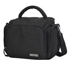 Men DSLR Camera Case Bag Small Black SLR Shoulder Messenger For Nikon Canon Sony