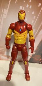 Custom Marvel Legends Unfinished Iron Man Invincible Modular Custom / Paint Test