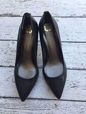 Monet Italy Black Pointy Toe Heels Women's Size 8