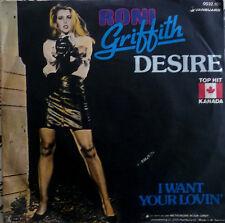 "7"" 1982 PARTY KULT ! RONI GRIFFITH : Desire / MINT-?"