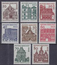 Berlin 242/49 ** Deutsche Bauwerke aus zwölf Jahrhunderten (I) postfrisch