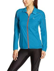 NEW Salomon S-Lab Light Trail Running Jacket (Women, Methyl Blue, Large) $150