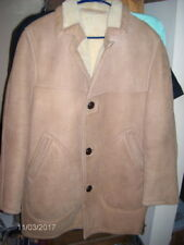 Vintage Men's Shearling Coat Jacket Soft ~ Size 40 ~ Gordon & Ferguson SEE BELOW