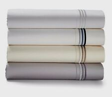 $125 Hugo Boss Classiques 100% Cotton Sand/Neutral Standard Pillowcase Pair