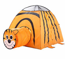 Kids Play Tent Crawl Tiger Tunnel Indoor Outdoor Park Camping Children Playhouse