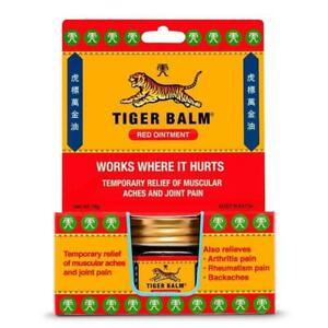 Tiger Balm Analgesic Red Ointment 18g Backache Arthritis Pain Relief