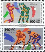 Berlin (West) 836-837 (kompl.Ausgabe) gestempelt 1989 Sporthilfe