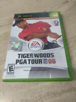 Tiger Woods PGA Tour 06 (Microsoft Xbox, 2005)