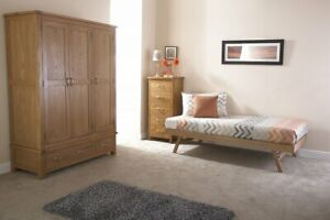3FT Single Oak Wooden Day Bed Trundle Only 99p No Reserve