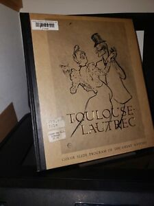Toulouse-Lautrec: Color Slide Program of the Great Masters HC McGraw Hill 1968