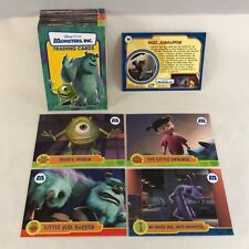 Disney Pixar MONSTERS, INC. (Topps 2001) Complete Base Card Set (#1-#50)