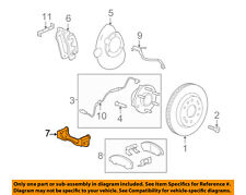 GM OEM Brake-Front-Disc Caliper Support Bracket 23498371