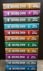 Vinland Saga Vol 1-11 English Manga Hard Cover **NEW**