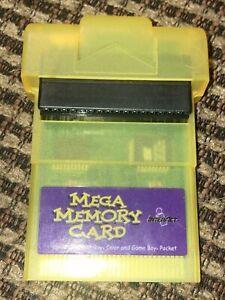 InterAct Mega Memory Card Nintendo Game Boy Color Pocket Tested & Working
