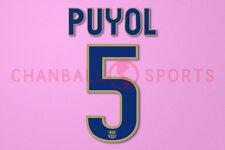 Puyol #5 2008-2010 Barcelona awaykit Nameset Printing